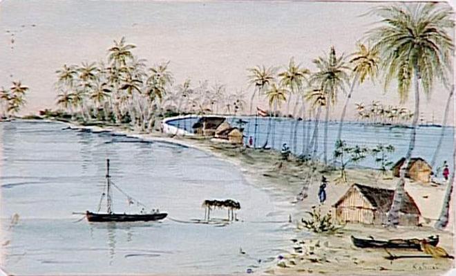 Kauehi en 1861