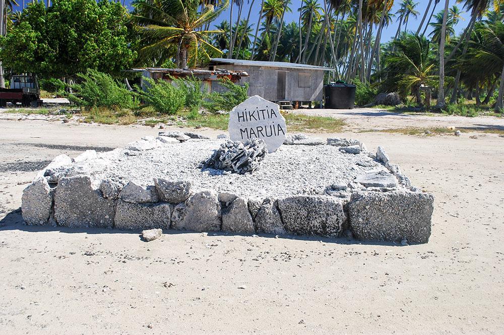 Hikitia Maruia à Napuka