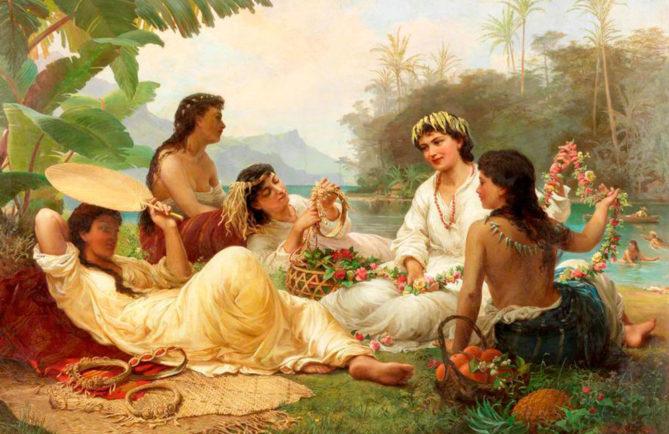 Nicholas-Chevalier-Sunny-Clime-Tahiti-1883