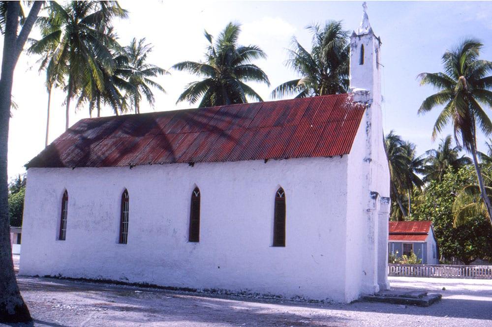 Eglise de Tureia en 1971
