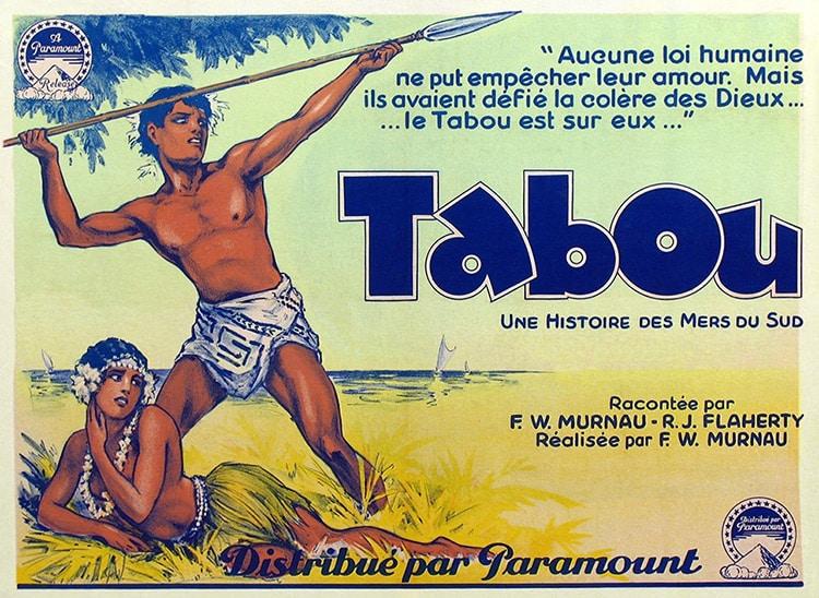 Affiche du film Tabou, une histoire des mers du Sud.