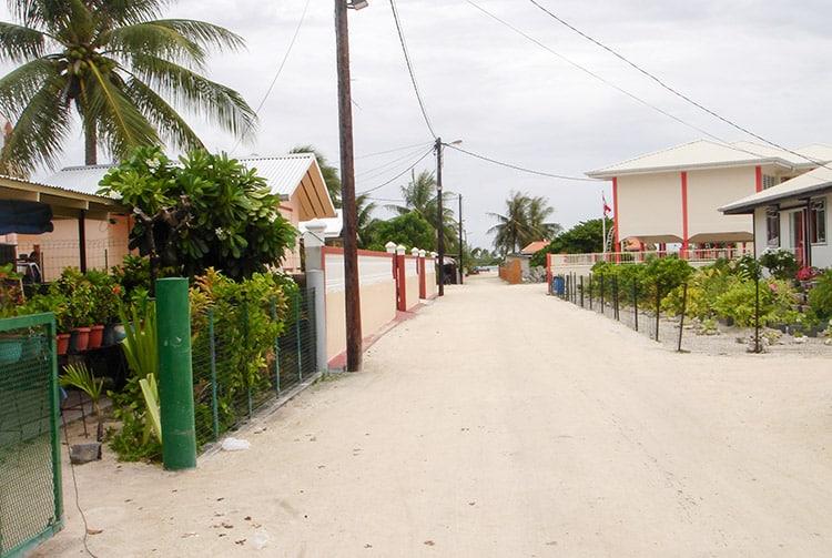 Village d'Arutua en 2009