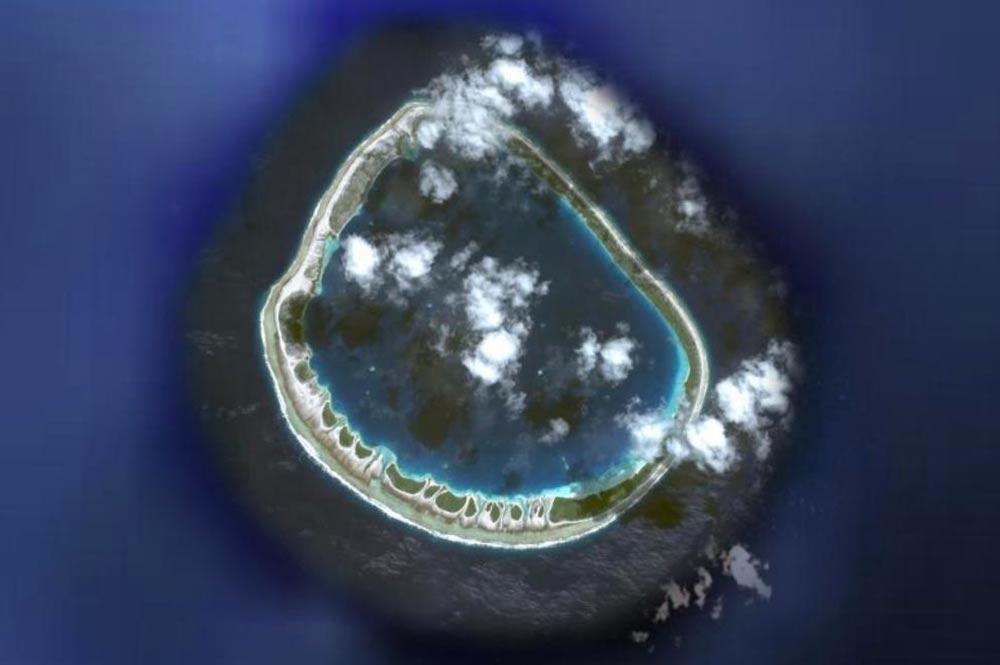 Atoll de Ahunui au Tuamotu