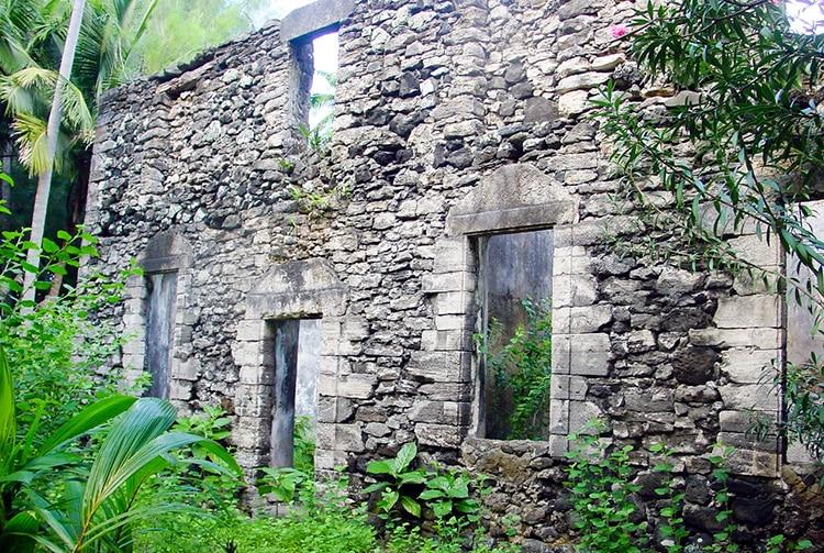 Collège Séminaire de Re'e, d'Aukena © Tahiti Heritage