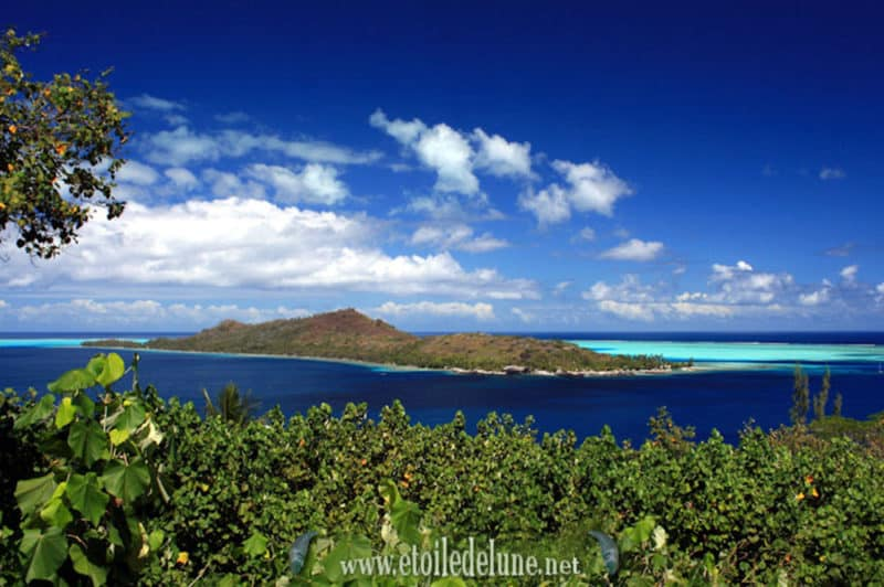 Motu Poorua de Bora Bora. Photo Etoiledelune