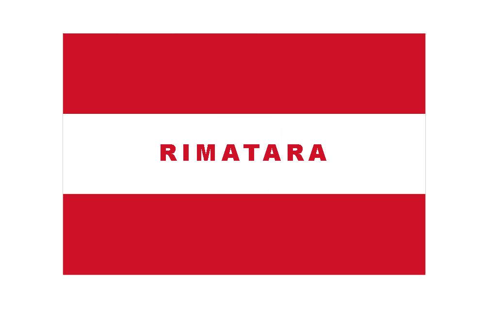 Drapeau actuel de Rimatara, Archipel des Australes