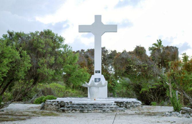 Croix de Horohoratika, Fangatau