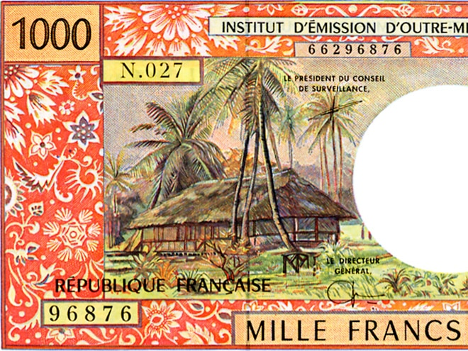 Fare du billet de 1000 francs