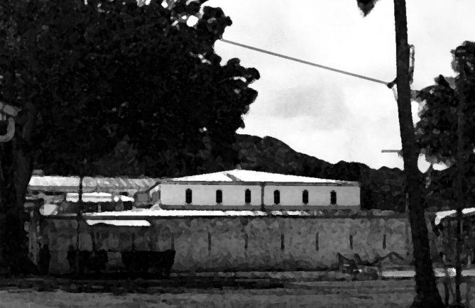 Fanfare déchainée au fort de Taravao, Tahiti
