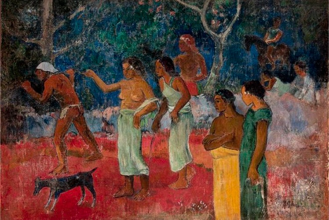 Paul Gauguin, Scène de la vie tahitienne 1896