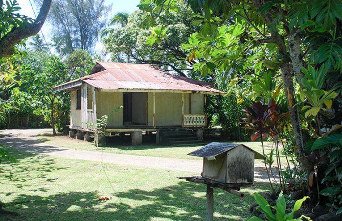 Ancienne maison à Tiarei, Tahiti © Tahiti Heritage