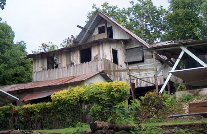 Maison Golaz à Makatea