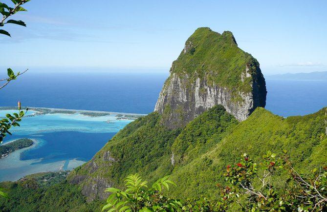 Mont Patia de Bora Bora. Photo Laurence
