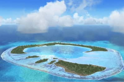 Motu One, atoll de Bellinghausen