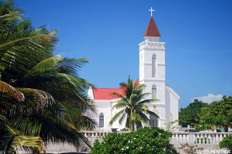 Eglise du Sacré-Coeur de Napuka © Tahiti Heritage