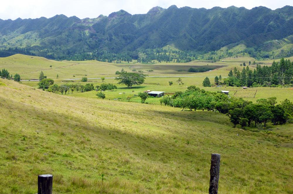 Plateau de Toovii à Nuku Hiva
