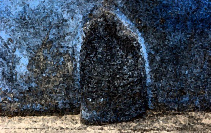 Pierre du marae Utuaimahurau Narii