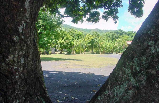 Tahua Apatoae, Place royale Apatea de Papara