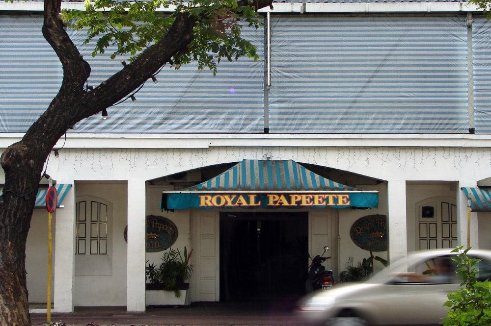 Le Royal Papeete en 2006