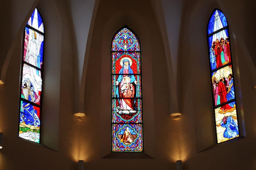 Les vitraux de la Cathédrale de Papeete