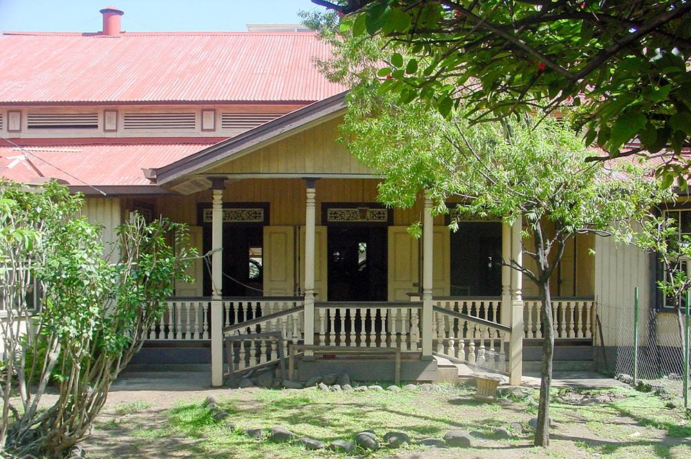 Maison de la reine Marau, à Papeete