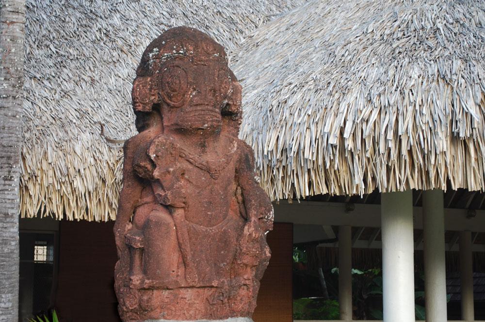 Tiki du centeraire de la Mairie de Papeete