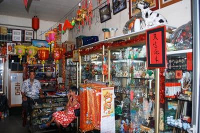 Magasin chinois Les trois sages à Papeete