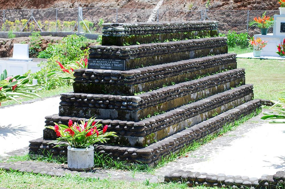 Tombeau de la reine marau de Tahiti