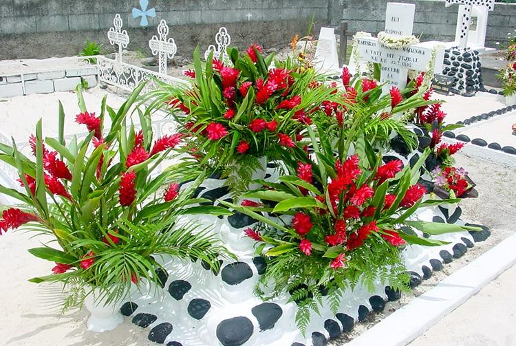 Tombe du guérisseur Tiurai à Punaauia © Tahiti Heritage