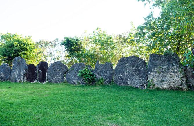 Marae Tainuu de Tevaitoa à Raiatea.
