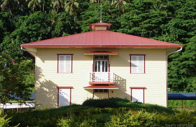 Maison Tambrun de Uturoa Ile de Raiatea © Tahiti Heritage