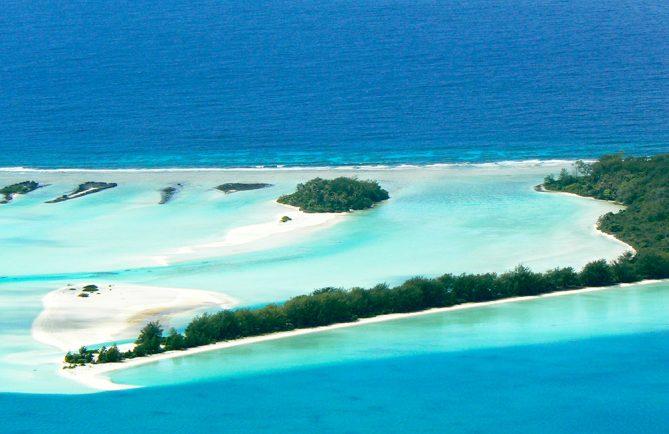 Motu piscine de Raivavae. Photo Tahiti95