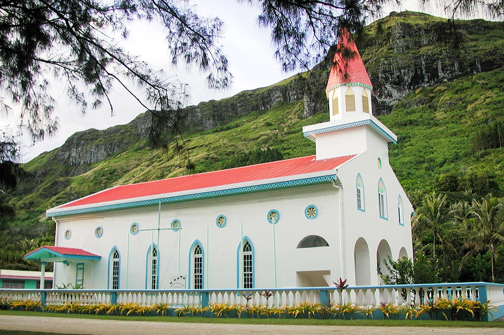 Temple de Raivavae