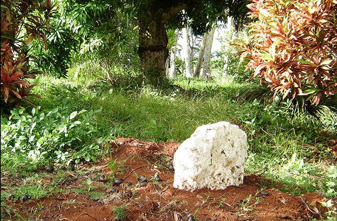 Pito Oromana, nombril de Rimatara