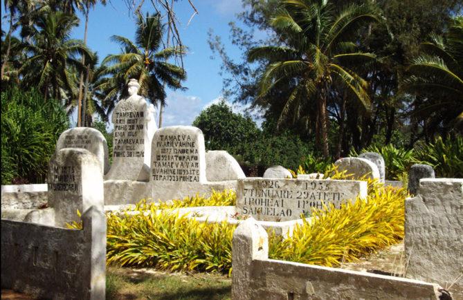 Tombes des rois et reines de Rimatara
