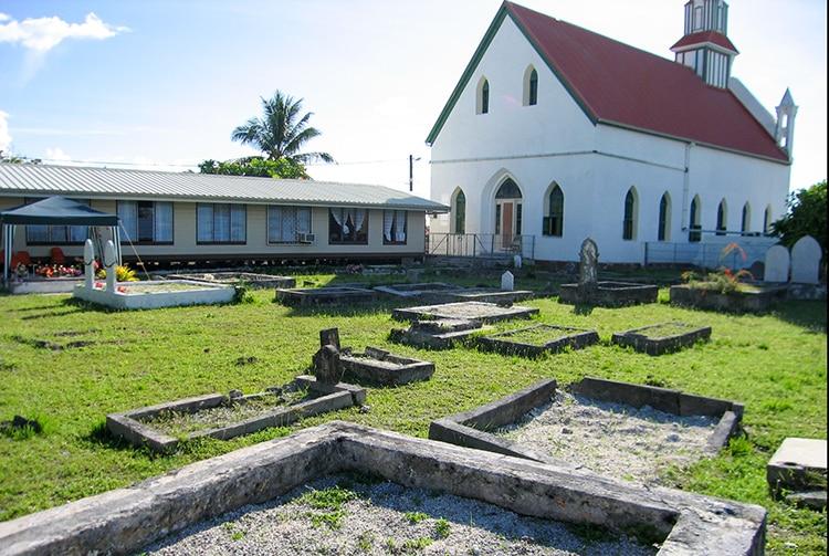Chapelle de l'église de Jésus Christ des Saints des derniers jours de Takaroa