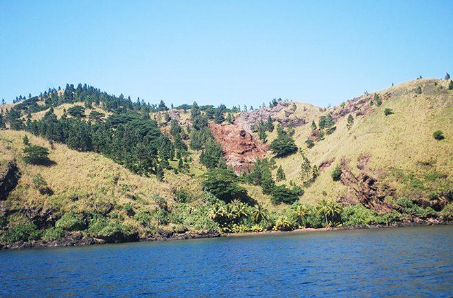 Baie Ananui de la reine de Taravai, Gambier