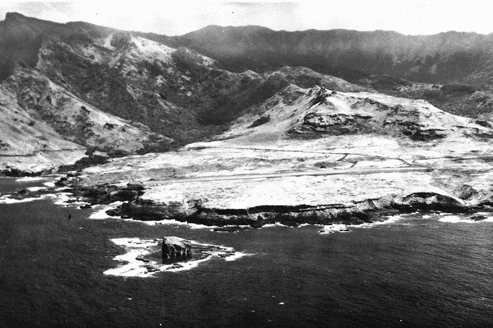 Aéroport de Ua Huka. Cliché militaire