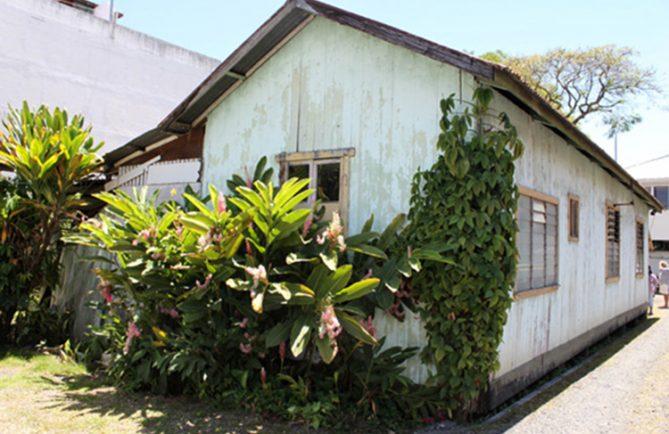 Ancienne maison de l'écrivain Charles Nordhoff à Papeete