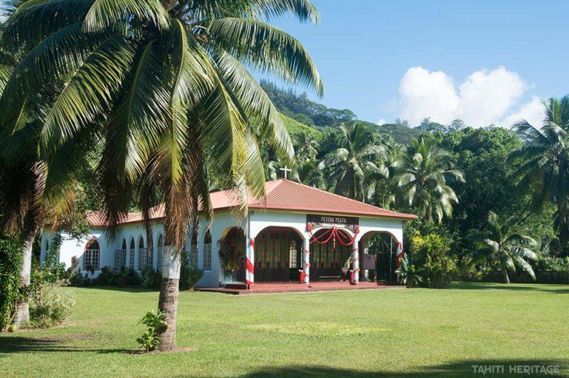 Eglise Saint-Pierre de Faaone, Tahiti © Tahiti Heritage