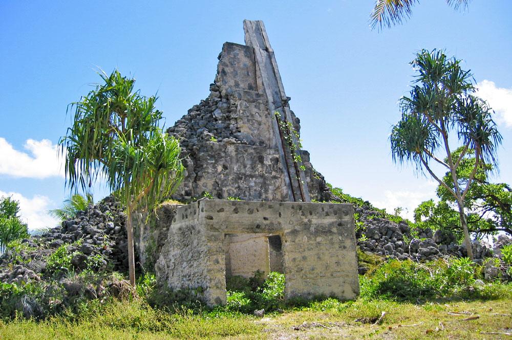 Phare de Tagaroaromatahara à Kauehi © Tahiti Heritage