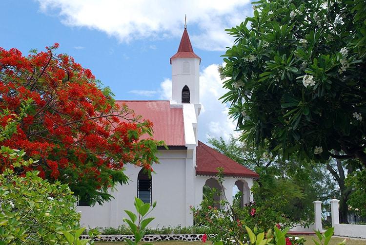 Eglise de Fakarava © Tahiti Heritage