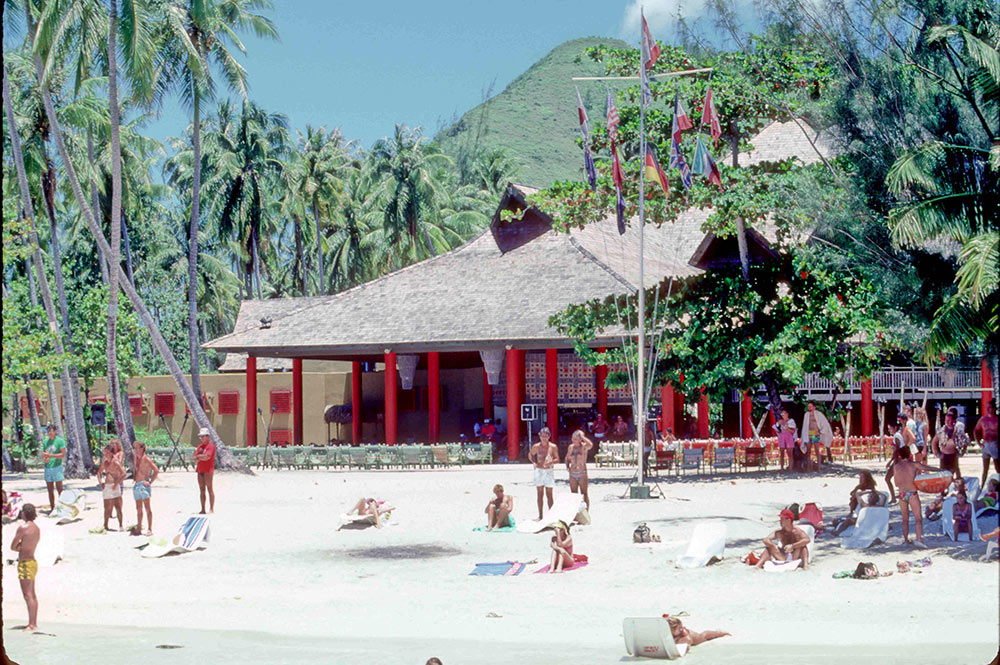 Club Med de Moorea en 1966 - themexicans-files