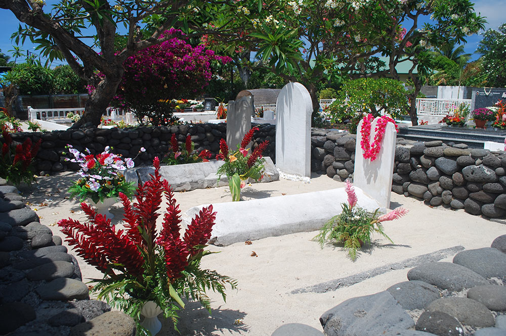 tombes de la famille Darling à Punaauia