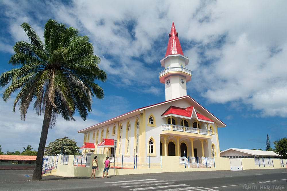 Le temple de Papara, Tahiti, en 2014. © Tahiti Heritage