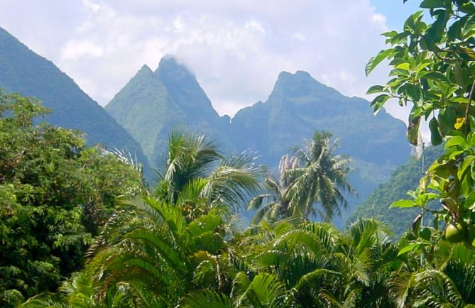 Mou'a Tamaiti - Mont de Papara