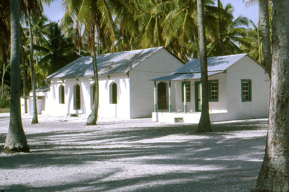 Village de Hakamaru à Tureia