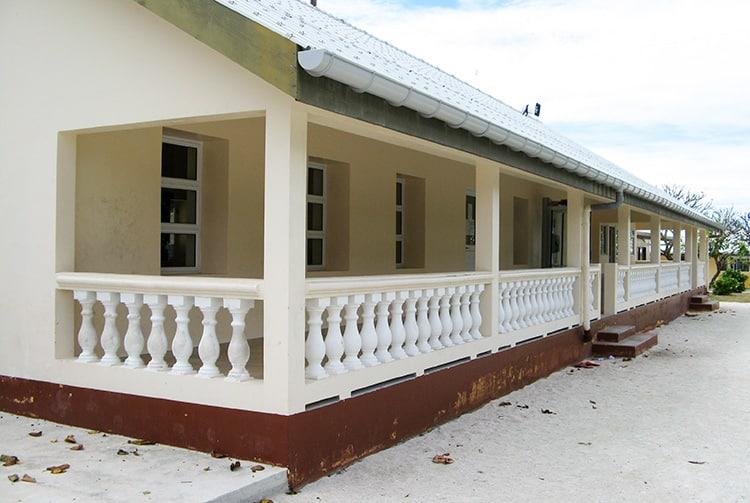La mairie d'Amanu en 2007
