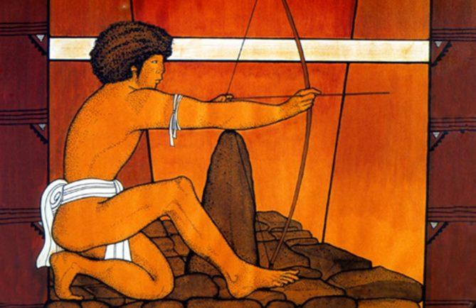 Tir à l'arc. Illustration Bobby