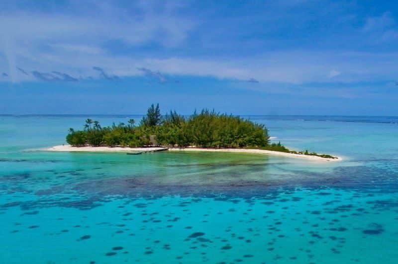 Motu Tapu à Bora Bora. Photo Pierre Lesage